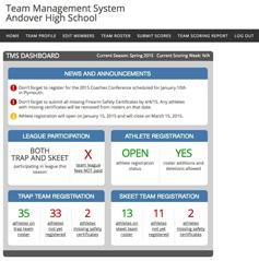 TMS-dashboard